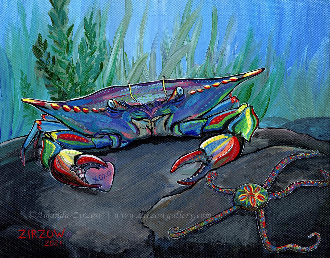 XOXO Crab